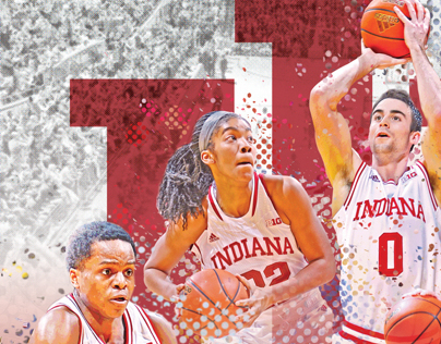 IU Basketball Visitors Guide Cover