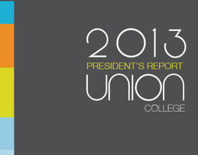 Union College 2013 Presidents Report