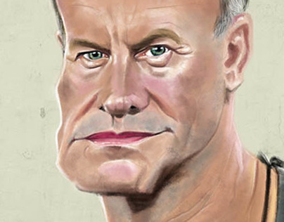 Sting.Digital Caricature