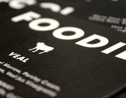 Menu // Foodie Dinner