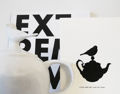 Post card  | You are my cup of tea.
