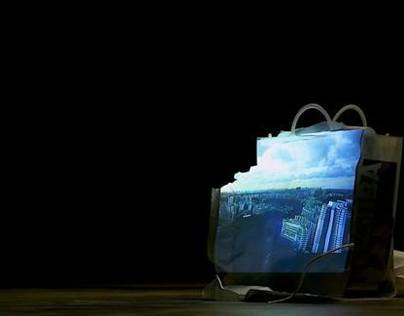Singapore Gazing, a video exhibit