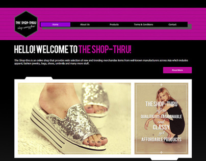 The Shop Thru Website