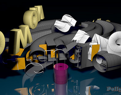 Cinema 4D stuffs 3D fonts