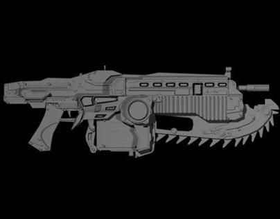 Lancer Gears Of War Tributo