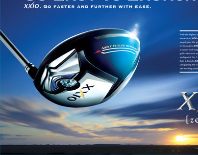 Srixon Golf Ads and Posters