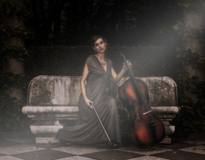 Editorial Retouch (Fantasy cello)