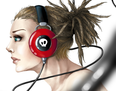 Music Digital Painting