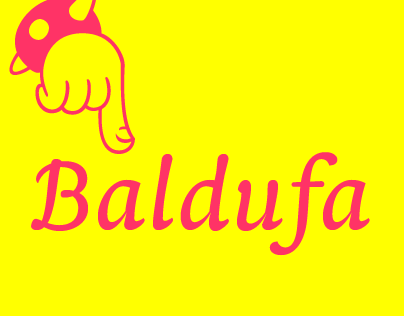 Baldufa, a colourful typeface
