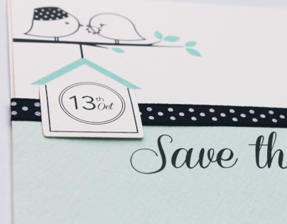 H&H Wedding Card