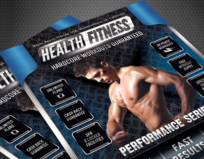 Health & Fitness Performance Series Flyer