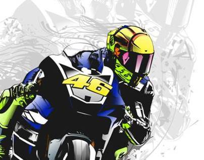 Tribute to Valentino Rossi
