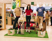 Hatrick: Cricket theme for store Launch Display