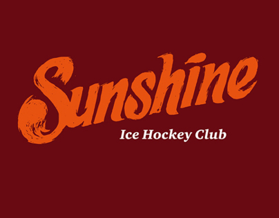 Logo and jersey for ice hockey club