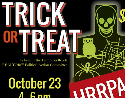 Fundraising Event Poster (Halloween Theme)
