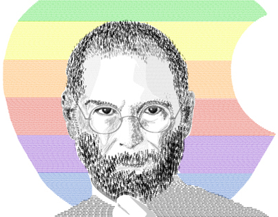 Steve Jobs, Illustration