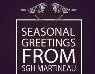 Christmas Cards | SGH Martineau