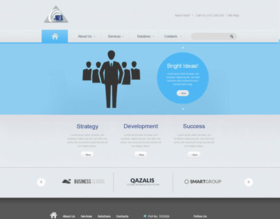 Web Templates - Design2