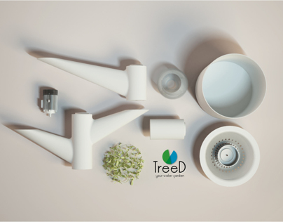 TreeD - Domestic Aereoponics Garden