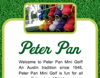 Peter Pan Mini Golf website