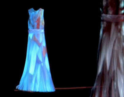 DRESS LIT/ Vestido Iluminado- Video Mapping