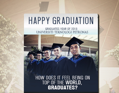 Happy Graduation Mini Poster