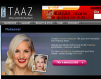 TAAZ.com and Virtual Makeover Tool (2010)