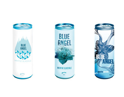 Packaging // Blue Angel by Perrier