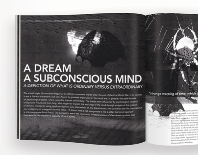 A Dream, A subconscious mind.