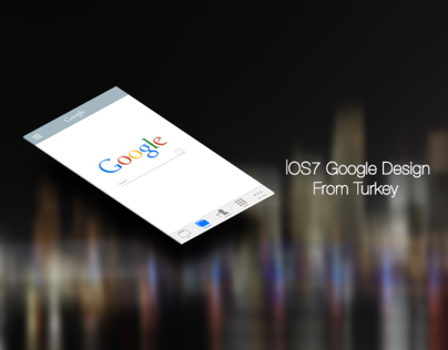 Google  IOS7 Design