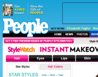 People Magazine Instant Makeover