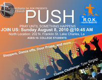 Push Youth Flyer