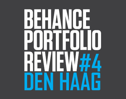 Behance Portfolio Review #4 Den Haag nov 2013