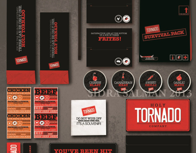 Holy Tornado Packaging