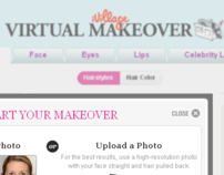 iVillage Virtual Makeover Tool