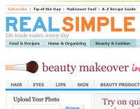Real Simple Virtual Makeover Tool