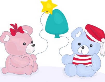 Xmas Teddy Bears