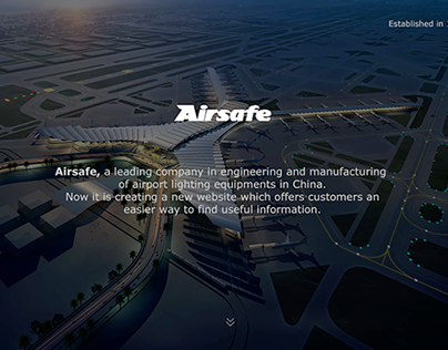 Airsafe Official Website Project