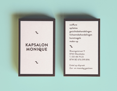 Kapsalon Monique Hairdressers Identity
