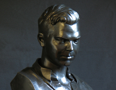 Bronze bust of Brother James Alfred Miller