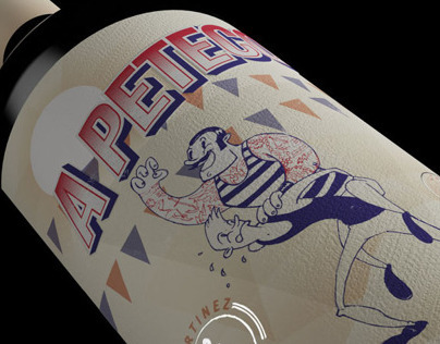 MENDOZA Wine labels design