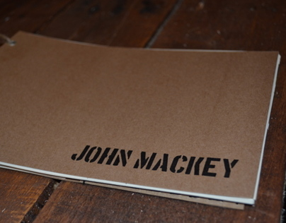 Book Design // John Mackey