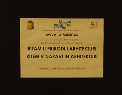 Workshop and exhibition: Ritam u prirodi i arhitekturi