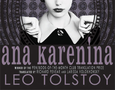 Ana Karenina Book Cover