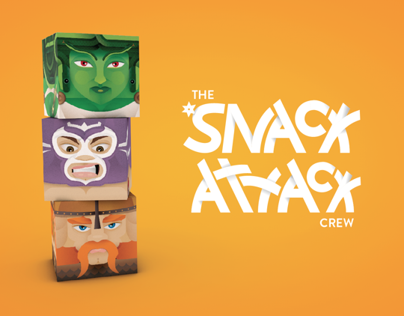 Snack Attack Candy Boxes