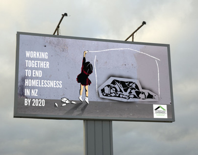 New Zealand Coalition to End Homelessness—Ad Campaign