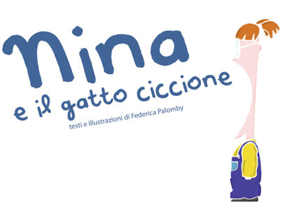 Texts and Illustrations - Nina e il gatto ciccione