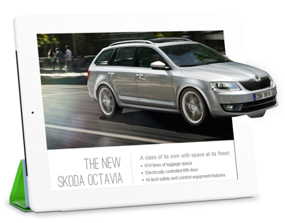 Skoda Responsive Website/Showcase