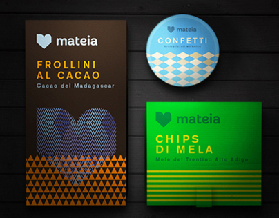 Mateia | Naming, branding and logo design