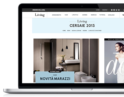Living.corriere.it - Cersaie 2013